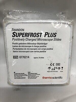 Shandon Superfrost Plus Positively Charged Microscope Slides 6776214
