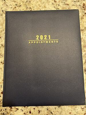 2021 Sundial Appointment Book Navy Blue Hardcover-on Sale Today