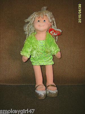 Ty Teenie Beanie Boppers Glitzy Gabby Doll New NWMT 2002