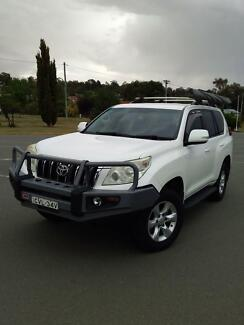 2010 Toyota LandCruiser SUV Canberra City North Canberra Preview