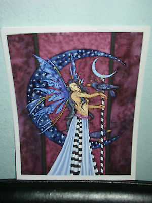 Amy Brown - Raven - OUT OF PRINT - RARE