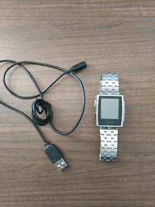 Pebble steel smart watch Belconnen Belconnen Area Preview