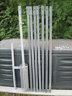 Brunnenbohrer Erdbohrer Erdlochbohrer-Bohrkopf -100 mm DM 10 m