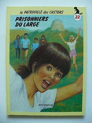 RE 1986 (très bel état) - La patrouille des Castors 22 (prisonniers du large)