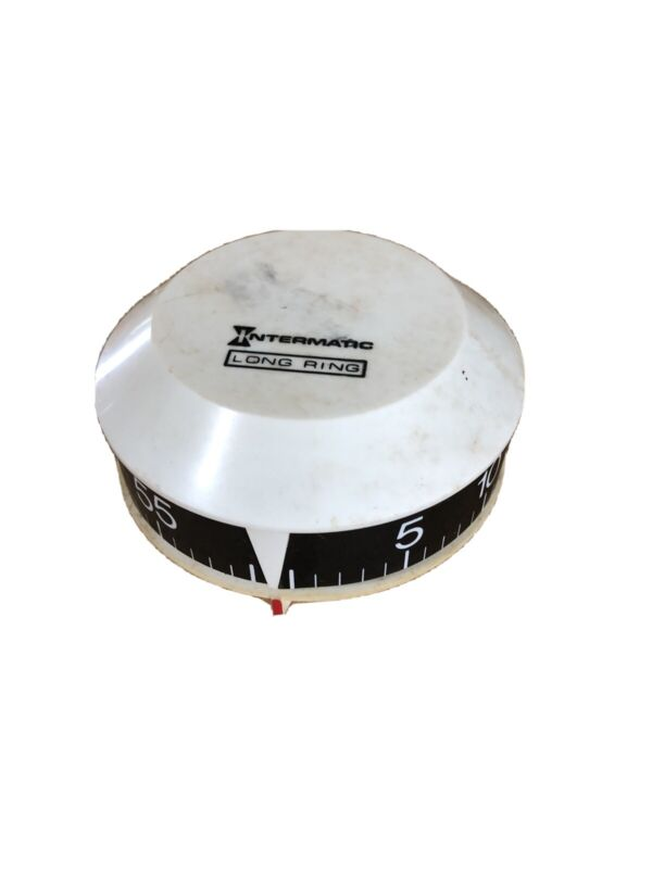 Vintage Intermatic Long Ring Kitchen Timer Mid Century
