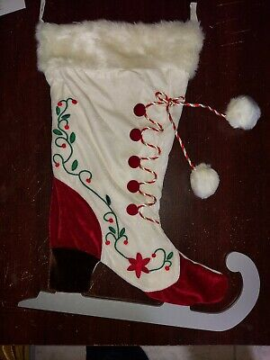 Hearth & Hand With Magnolia Holiday Stocking - White