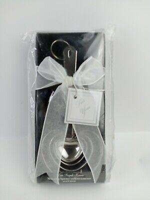Kate Aspen Heart Measuring Spoon Gift Set New