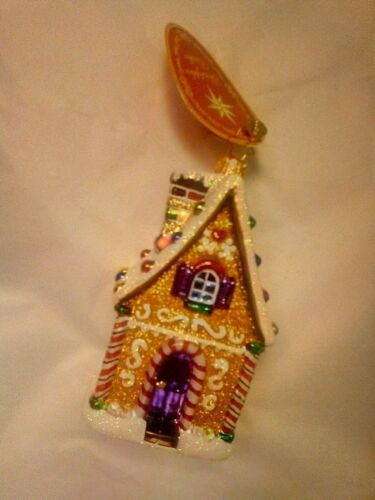 Christopher Radko new with tags DELICIOUS TREASURE Christmas Ornament 1019851