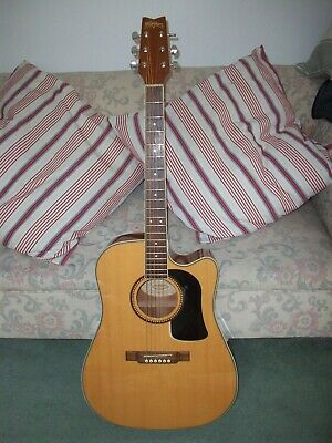 Washburn D10SCE Electro Acoustic Guitar + original box - FREE UK POSTAGE