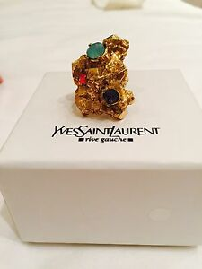 YSL gold stone ring Bronte Eastern Suburbs Preview
