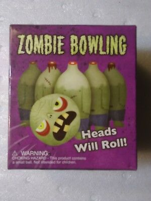 Set)Ten Pins + Zombie Bowling Ball- Heads Will Roll (Zombie Bowling)