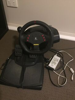 Momo force feedback racing wheel