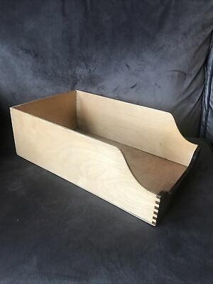 Vintage Mid-Century Wooden Haberdashery Drawer Storage Box or Shop Display