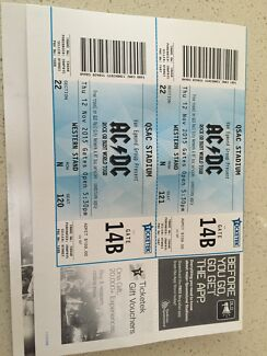 Acdc tickets Reedy Creek Gold Coast South Preview