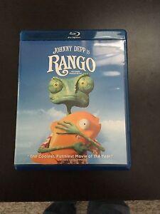 Rango blue ray