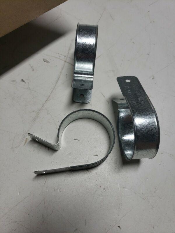 "(23) BULK PACK 2"" CPVC Pipe Hanger Strape One Hole Galvanized"