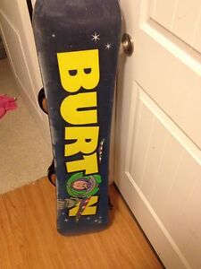 120 burton snow board
