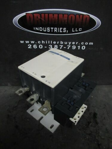 SQUARE D TELEMECANIQUE CONTACTOR 200 AMP 480 VAC 100 HP 110 V COIL LC1F150