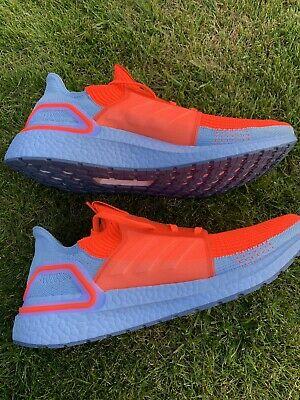 Adidas UltraBOOST 19 Solar Red/ Glow / Orange Boost Runner UK 11 G27505