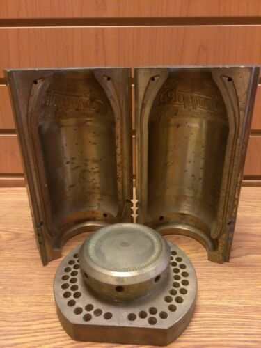 Vintage Original Snapple Bottle Mold Full Set Heavy Duty Industrial Art