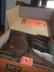 Timberland pro size 10.5 still in box work boot