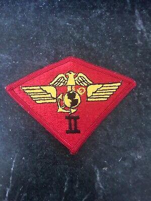 2nd Marine Aircraft Wing Embroidered Iron On Patch Military USMC MAW US Second