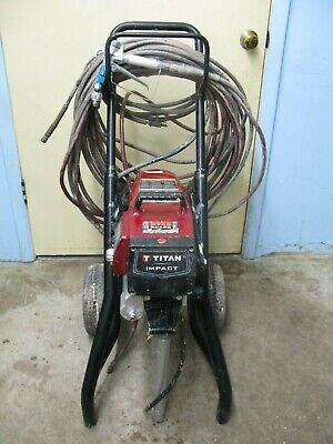 Titan 805-004 805004 Impact 640 High Rider Airless Paint Sprayer Tested