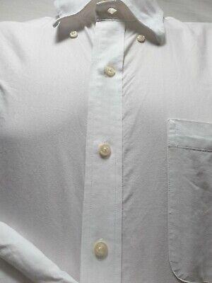 NAUTICA Mens Large White Longsleeve Shirt