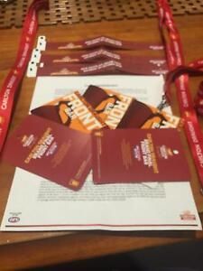 Grand final front bar tickets x3 Laverton Wyndham Area Preview