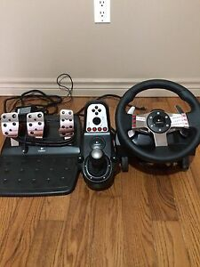 Logitech G27 racing set