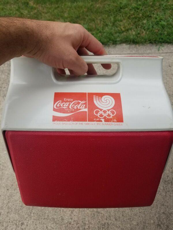 Coca Cola Cooler Bag Beijing 1988 Seoul Olympic Games