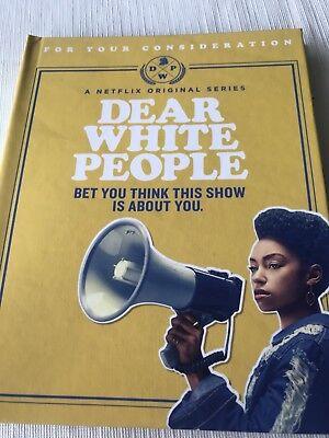 Dear White People 2017 Netflix Fyc Dvd Set Complete Season One Logan Browning