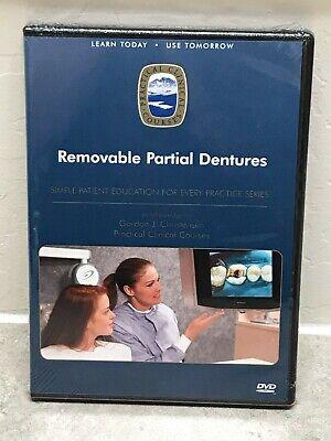 Removable Partial Dentures Dp9 - Patient Ed Gordon J. Christensen Pcc Dvd