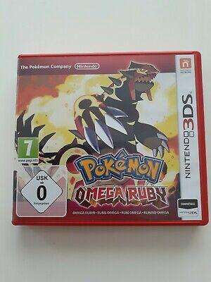 Pokemon Omega Ruby Nintendo 3DS Game