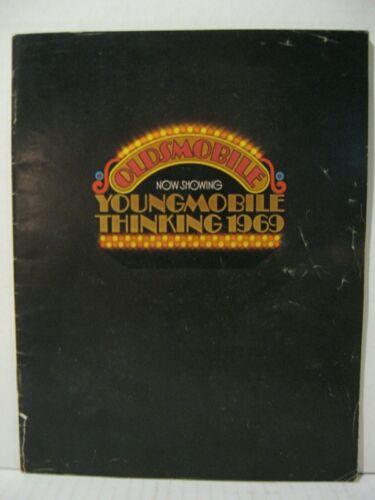 1969 Oldsmobile Full Line Car Dealer Sales Brochure Catalog