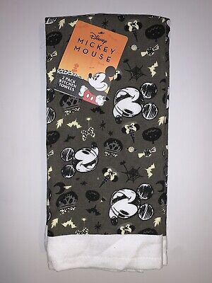 NEW Disney MICKEY MOUSE Halloween 2-Pack Kitchen Towels