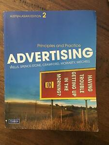 Advertising and Creative strategies textbook Bundall Gold Coast City Preview