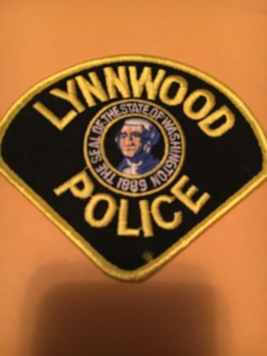 Lynnwood Washington  Police patch
