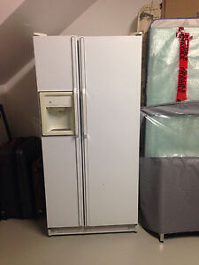 GE Double door side by side fridge freezer with ice and water Mill Park Whittlesea Area Preview