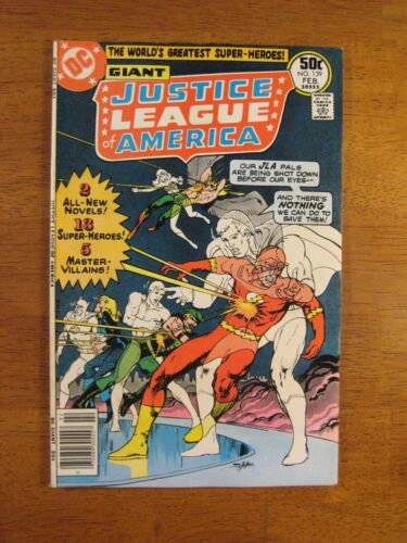 JUSTICE LEAGUE #139 Adams! (VF/VF+) Super Bright, Colorful & Glossy!
