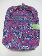 Vera Bradley Laptop Backpack Boysenberry
