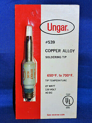 Copper Alloy Soldering Tip Ungar 539