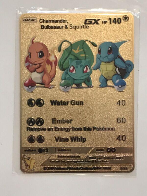 "Pokemon Squirtle Charmander Bulbasaur Pin Button 1-1//4/"" New Unused Handmade"
