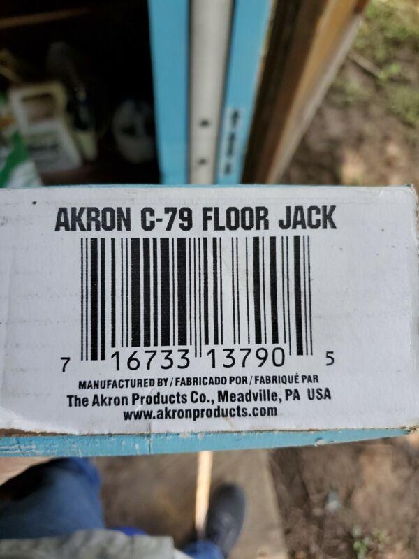 Adjustable Floor Jack,No C-79,  Akron Products