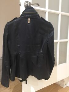 Mackage leather jacket. Veste de cuir Mackage