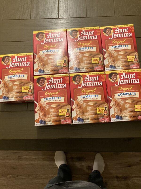 Pancake Mix Original Complete Jemima- 7 Unopened Boxes