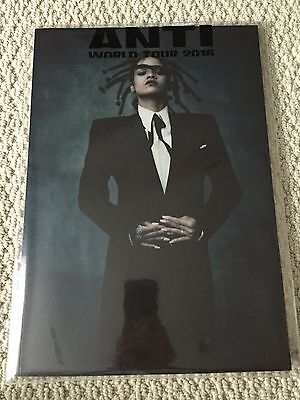 New Authentic Rihanna Anti World Tour Merch 2016 Concert Program Album CD Set