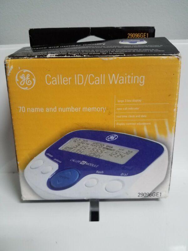 GE Call Waiting Caller ID 70 Name & Number Memory 29096GE1 Large Display Used.