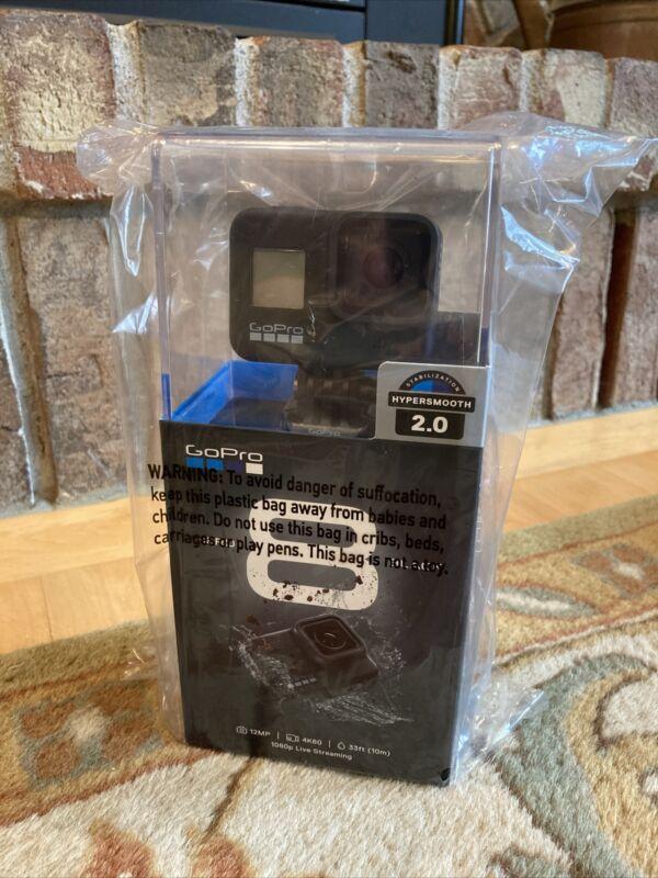 GoPro HERO 8 Black, 4K / 12MP Action Camera, HyperSmooth 2.0 - Brand New, Sealed