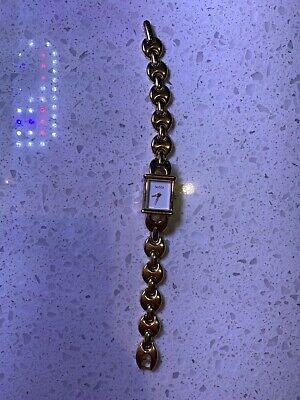 GUCCI gold vintage women's watch
